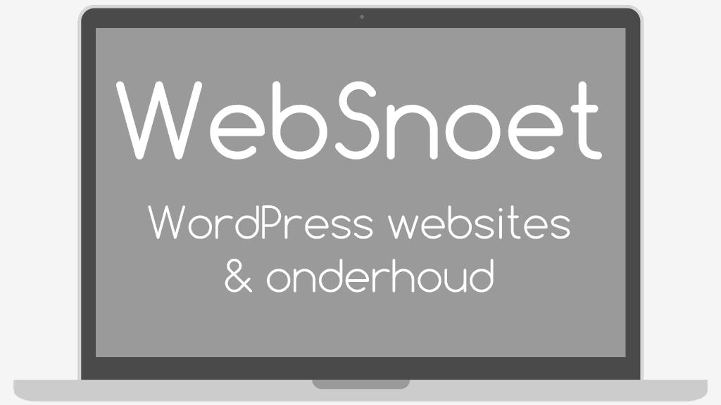 WebSnoet afbeelding logo